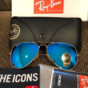 New Authentic Ray-Ban AVIATOR CLASSIC RB3025